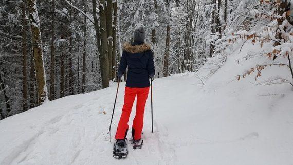 Wandern mit Schneeschuhen